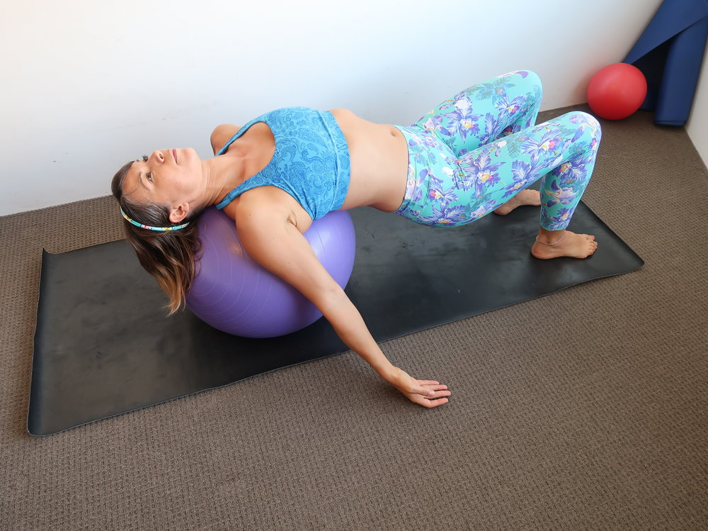 Supine Bridge Squat x 3 - 10 minutes