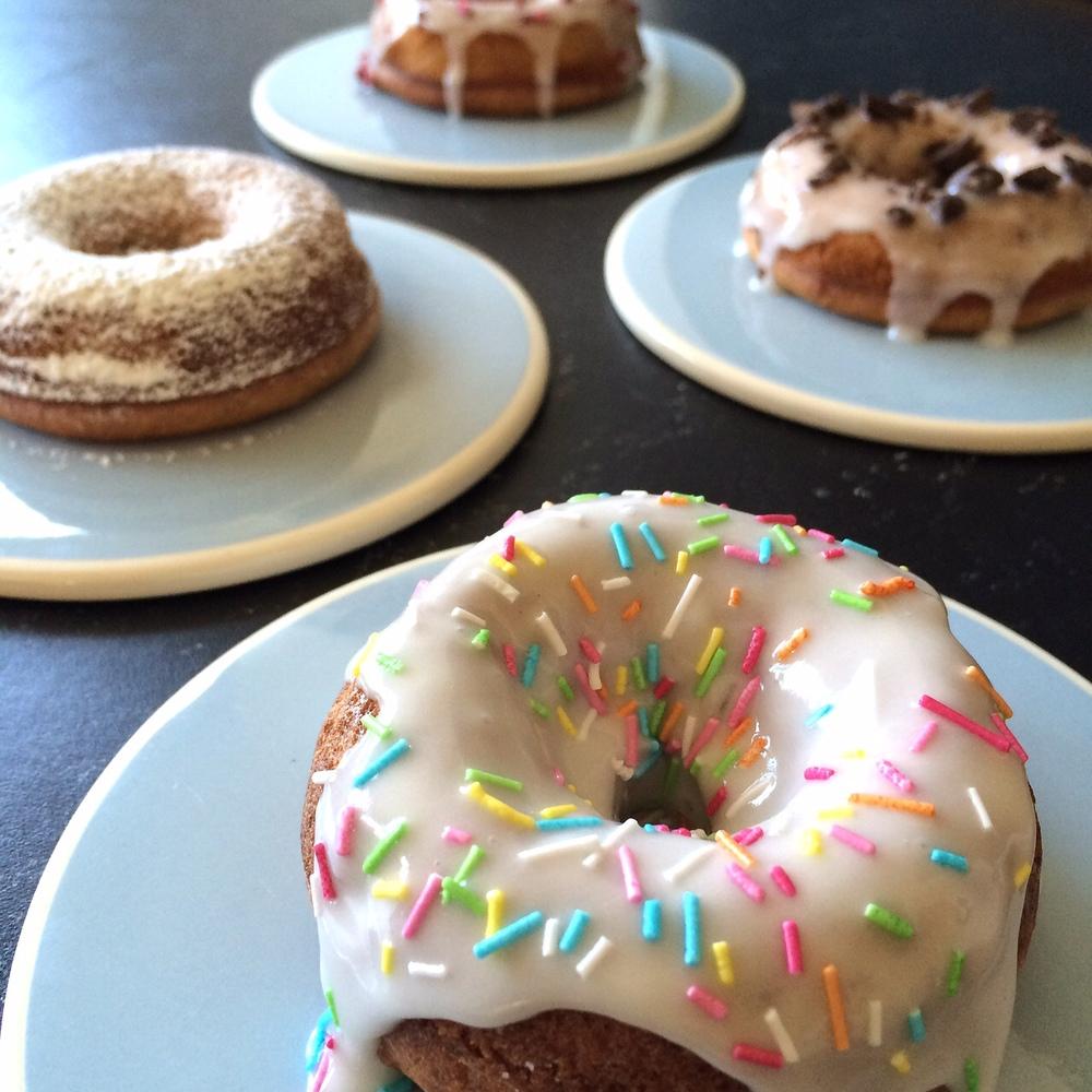 Bagte NGF Donuts    Bagte NGF Donuts, Vegan