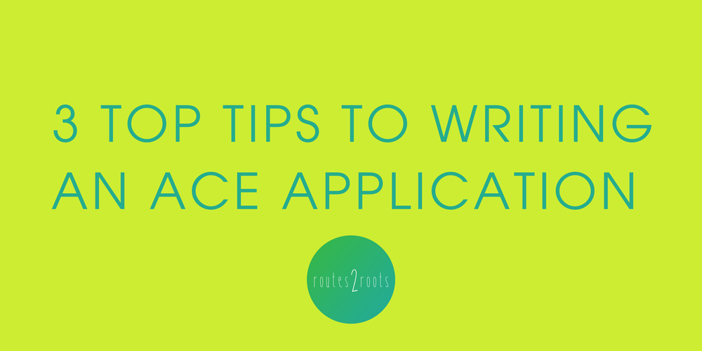 Three top tips to writing an ace Young Roots application - Catherine Kemp