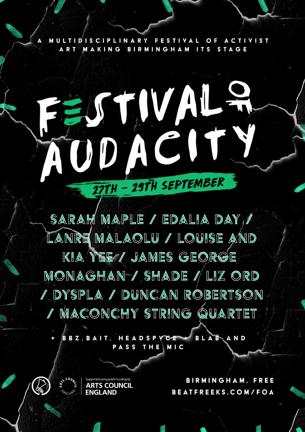 Too Pretty To Punch: Festival Of Audacity — Beatfreeks