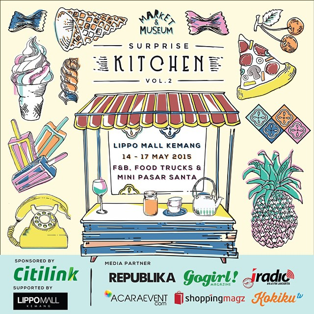 Are you ready #foodies #marketmuseum surprise kitchen is tomorrow!! We are opening our booth from 12:00 pm - 22:00 pm. @marketmuseum  #lippokemang #industrieid #indonesia #weekend #follow #event #foodporn #nomnom #makanmana