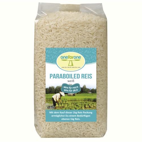 Bio Parboiled Reis, weiss