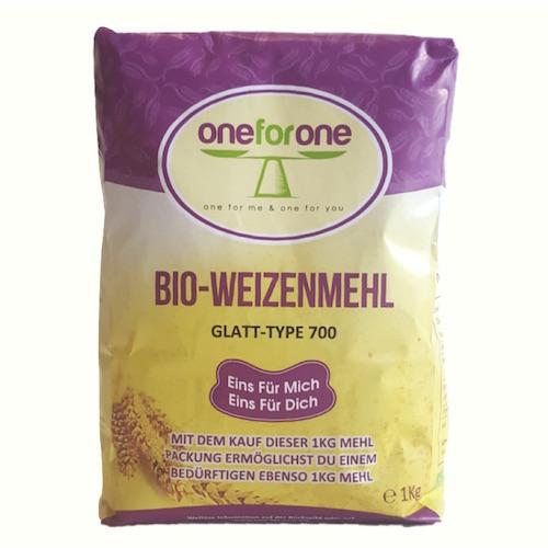 Bio Weizen Mehl, Typ 700