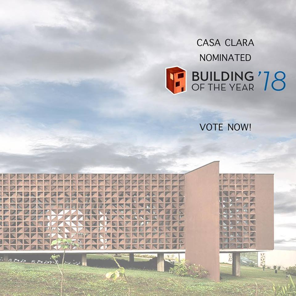 Archdaily Building of the Year Casa Clara Brasilia