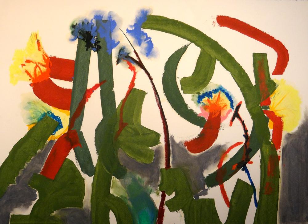 Flowers in Winde