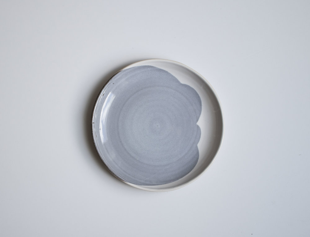 A plate.