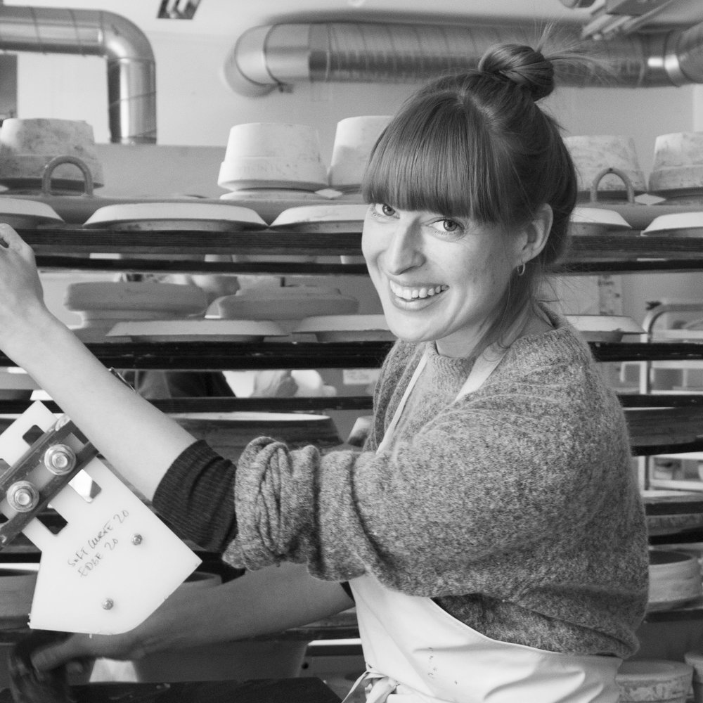 Tuva Moen Holm  is often found making plates in the microfactory, but is also the house photographer - and in charge of packing small and large shipments.