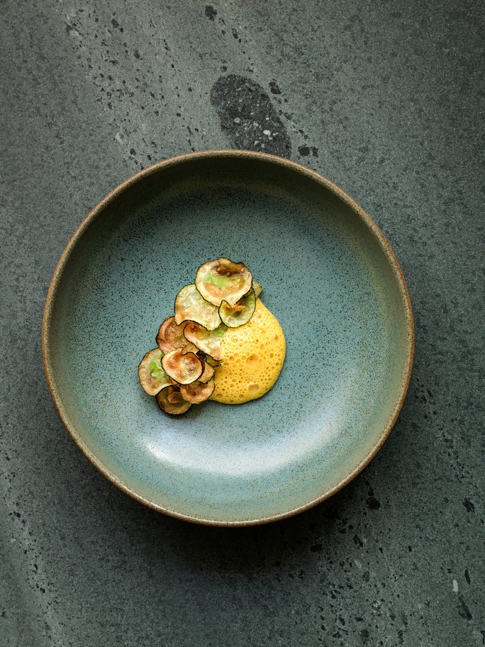 Dish/17.  Photo: L'Enclume (UK).