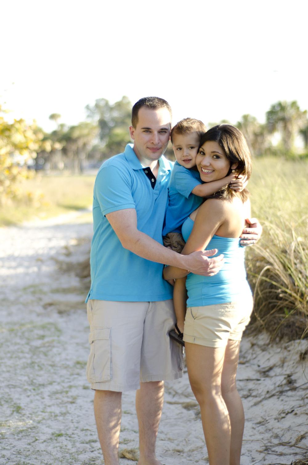 Beach Photographer - Tampa Family Photos