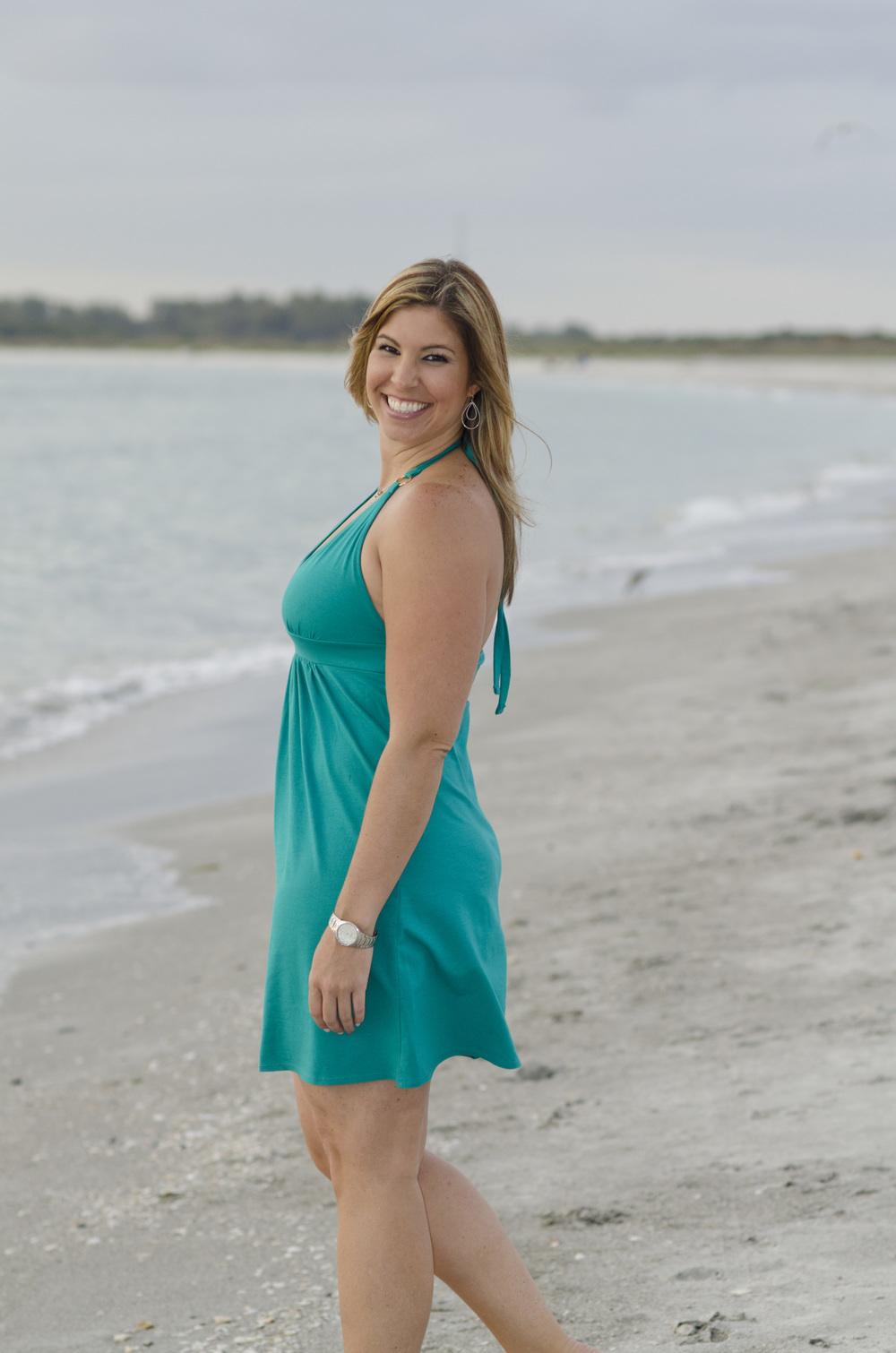Beach engagement photo ideas - Tampa wedding photographer