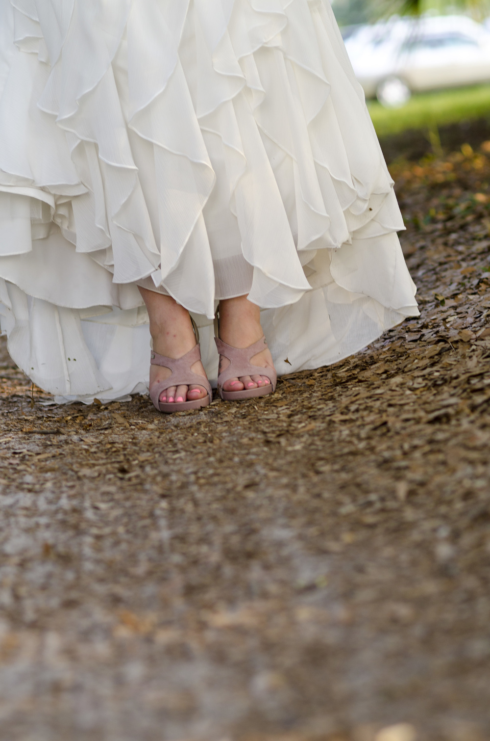 wedding shoe photos - fairbanks alaska wedding photographer