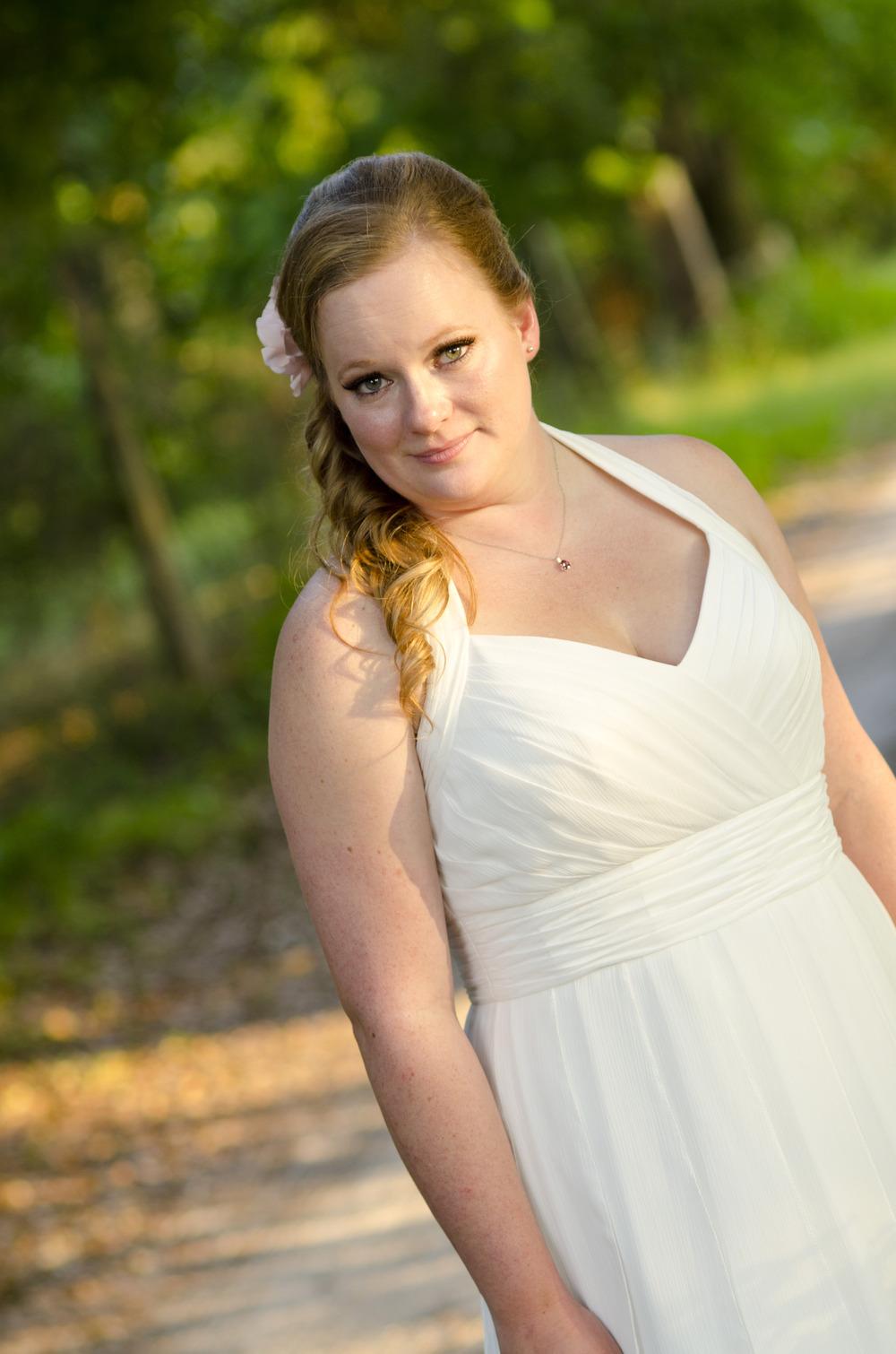 bridal portrait photography - alaska wedding photos