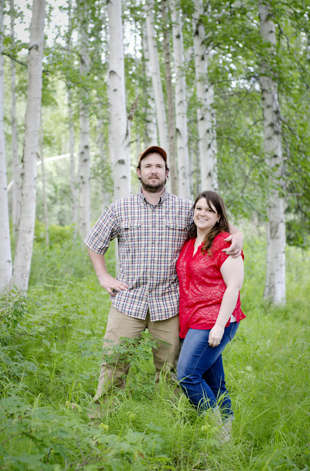 Fairbanks Alaska engagement photos - kelsey carlson photography