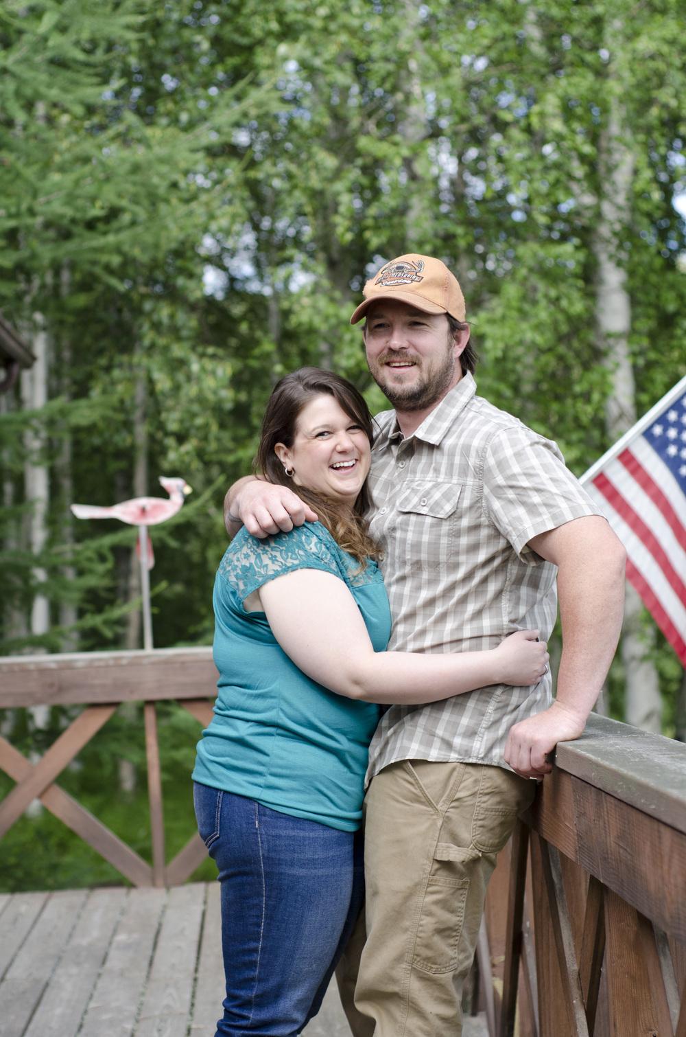 Fairbanks Alaska engagement photos - outdoor photographer