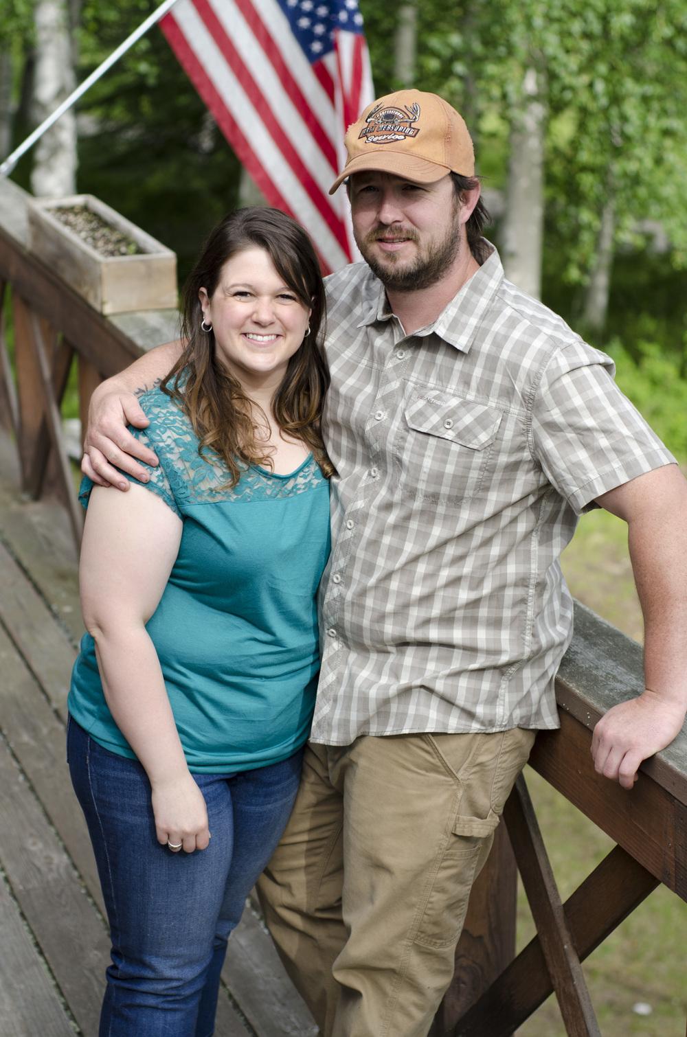 alaska wedding photographer - engagement photos
