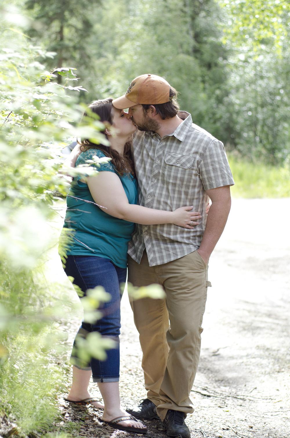 alaska engagement photographers - fairbanks
