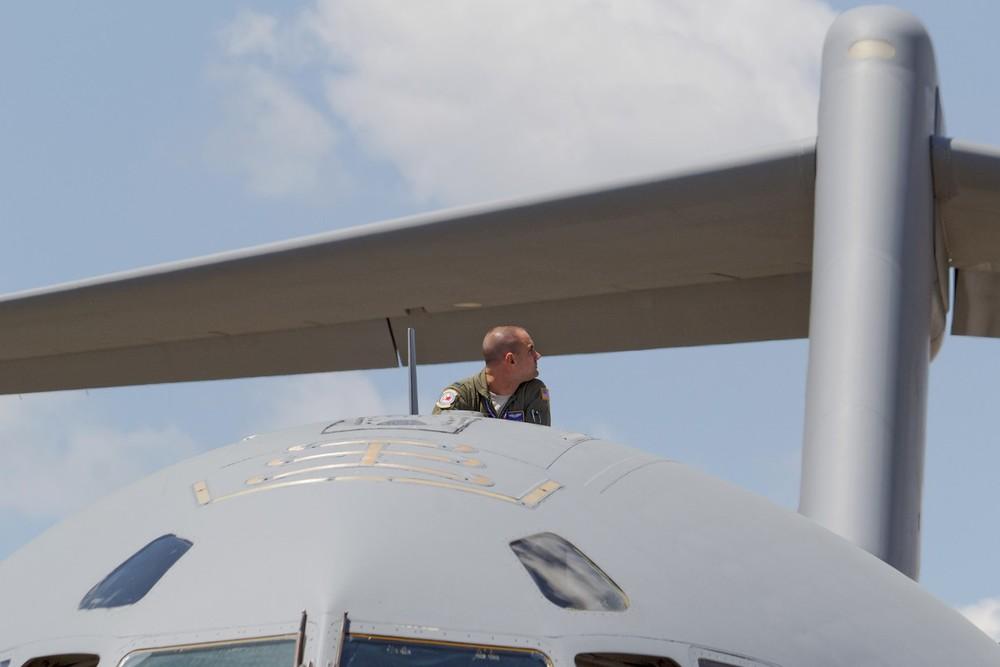C-17 crewmember