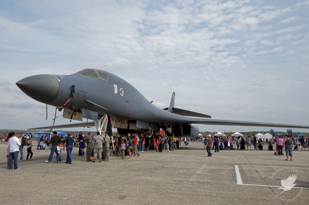 USAF B-1B Lancer at Westover ARB in Massachusetts