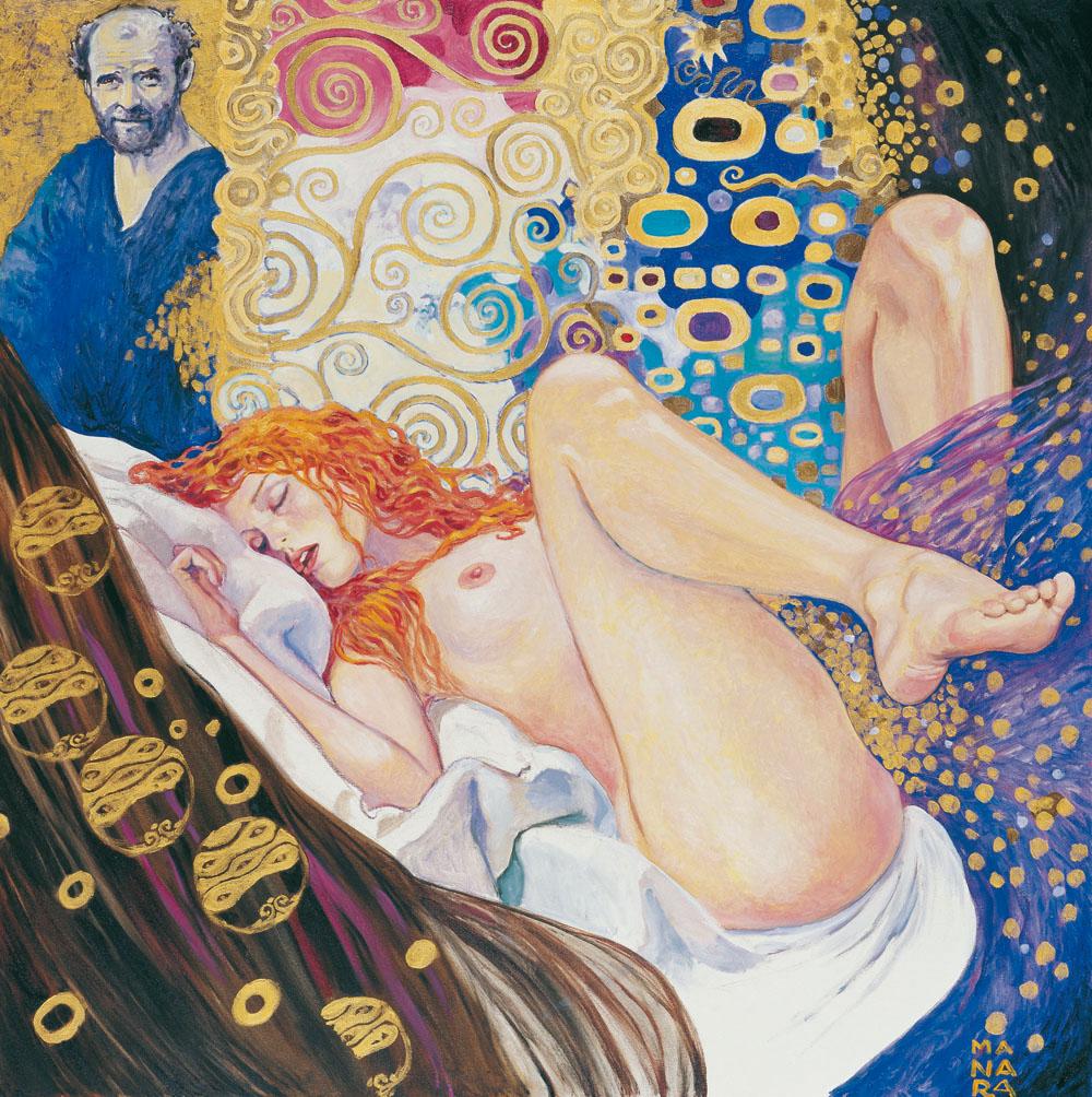 Il pittore e la modella - Gustave Klimt.jpg