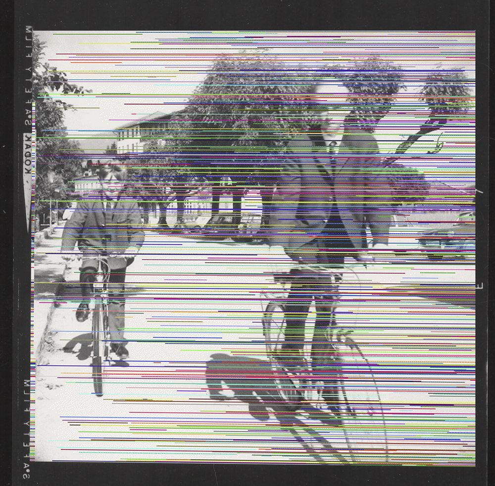 Untitled (boys riding bikes), 2013.