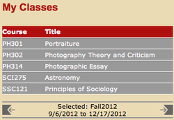 Speaking about school, here is my Fall Semester schedule! Im extra excited for Theory and Crit with  Thomas Gustainis . Thomas taught my History of Photo 1+2 and he is one of the most intellectual persons I have ever met in my life. The other class Im super excited for is Photographic Essay with  Greer Muldowney  . Greer taught Concept Development last semester and she was a fantastic teacher, a ton of fun, and made me realize that if I want to make it in this business I need to work my ass off. I dont know who is teaching Portraiture yet so that should be interesting. I really enjoy shooting portraits so I hope to learn some new ticks of the trade.