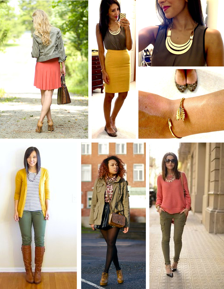 Photo credits top left to bottom right: Meagan's Moda, Hello Gorgeous, Pinterest, Chicismo, Pinterest