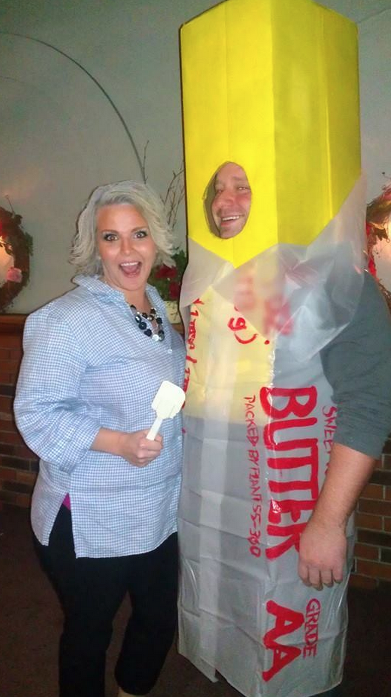 Paula Deen and a Stick of Butter