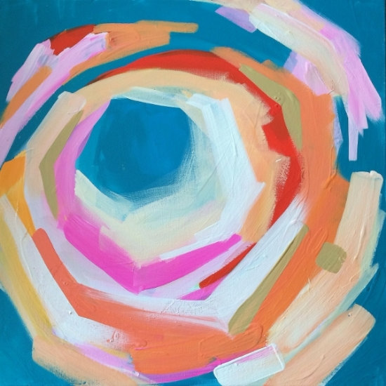 Painting by Kristen Davis