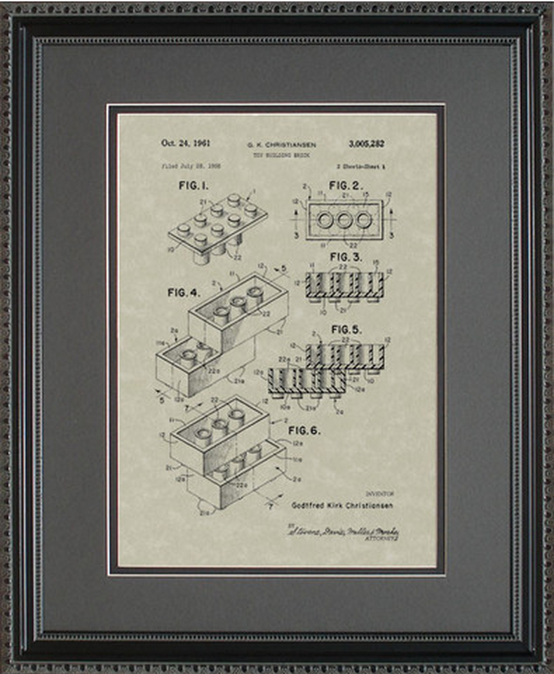 LEGOS Patent Artwork