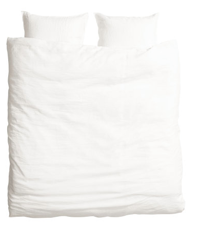 H and M Linen Duvet, only $99.00