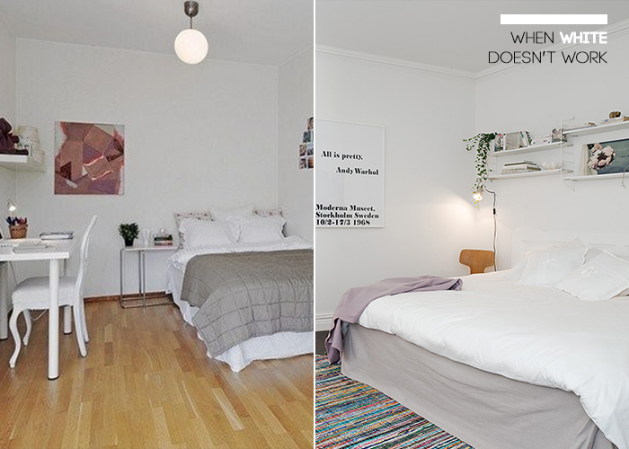 Not All Rooms Can Pull Off White Ends In Style