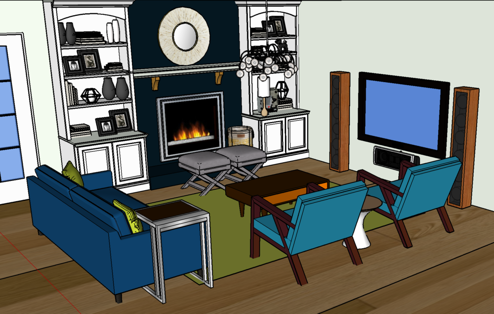 The living room plan (still very much in the works)