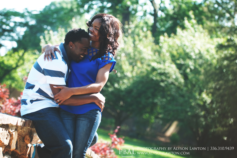 Graylyn Convention Center Engagement | Jessica and Matt | Winston Salem Wedding, Portrait and Event Photographer | Photography by Alyson Lawton
