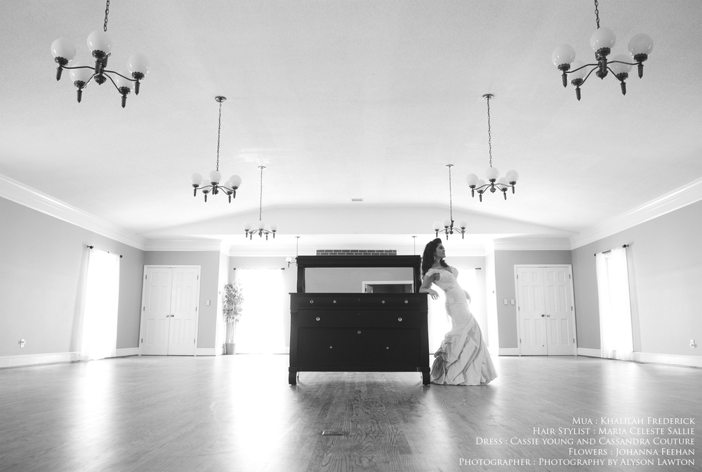 Fayetteville Downtown Bridal | Johanna | NC Triad Wedding, Portrait and Event Photographer | Photography by Alyson Lawton
