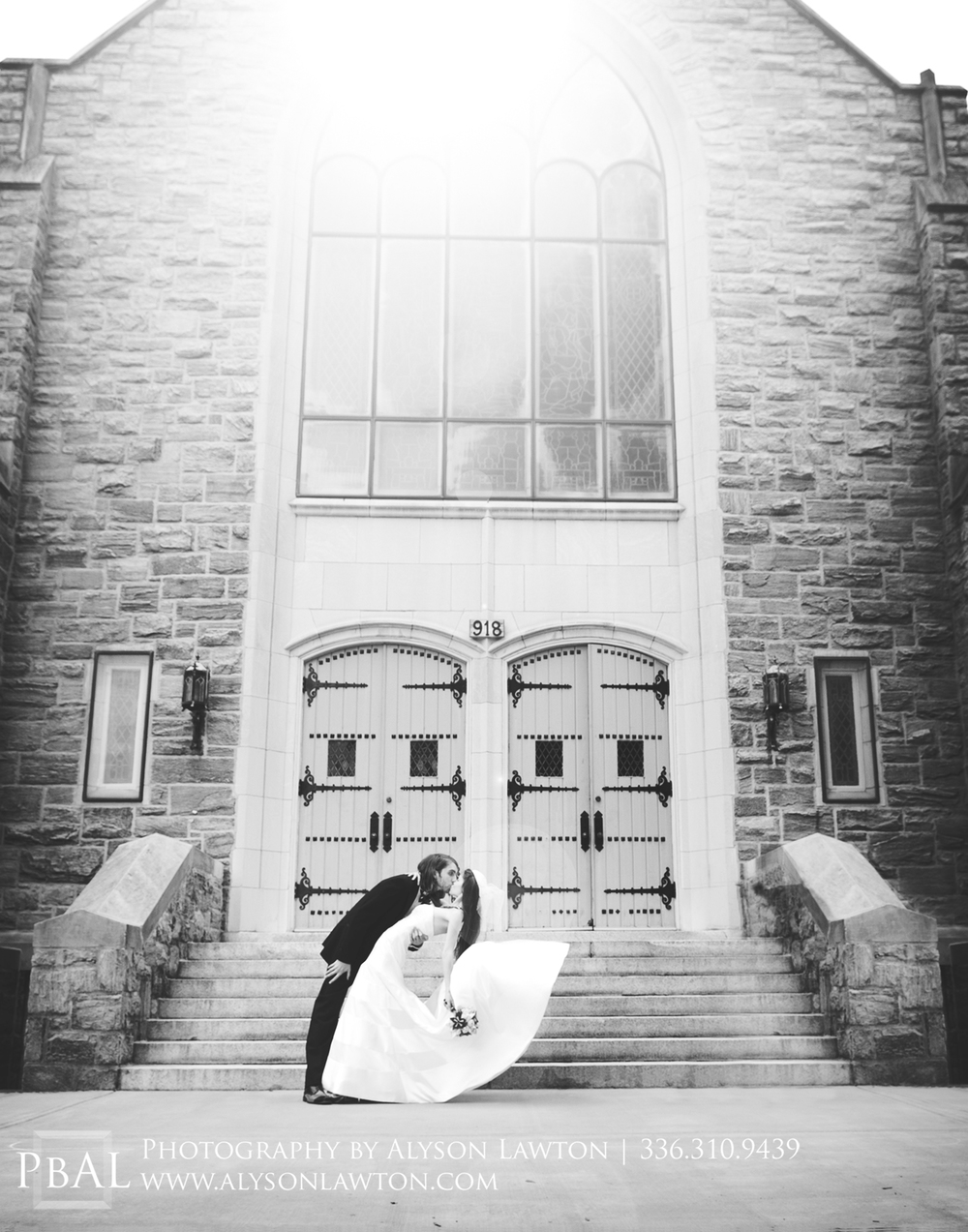 High Point Wedding Photography | First Presbyterian Church of High Point | The Factory