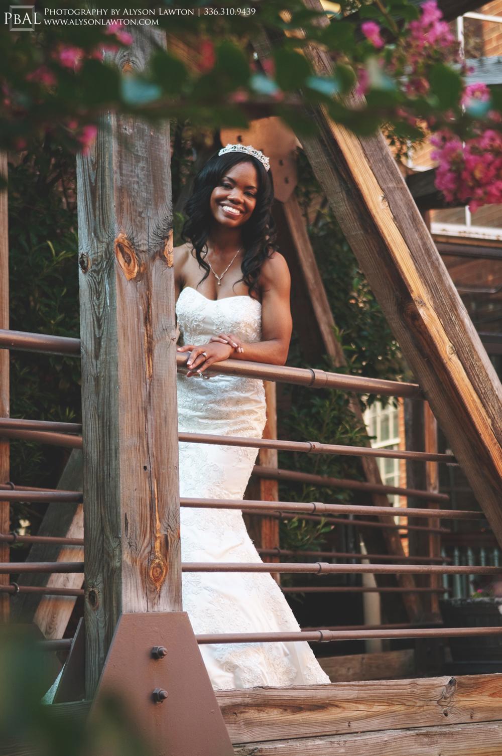 { North Carolina Portrait Photographer | Winston Salem | Jessica's Bridal Portraits | Photography by Alyson Lawton }