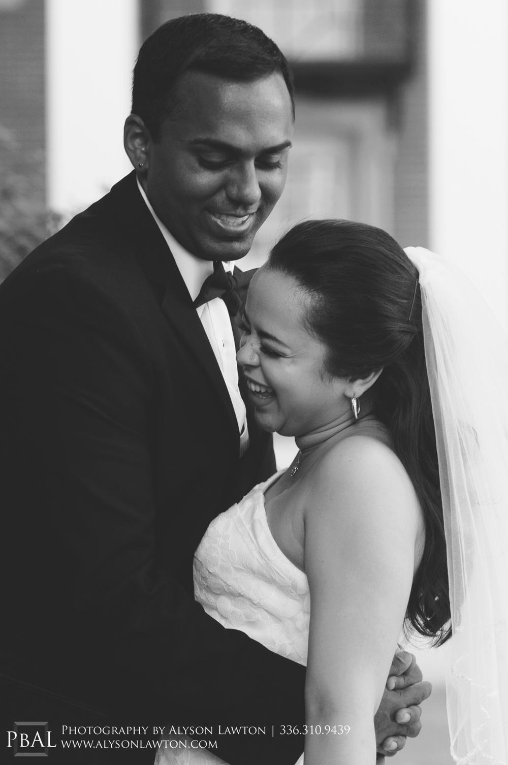 { North Carolina Wedding Photographer | Samantha and Aaron | Wake Forest University | Photography by Alyson Lawton }