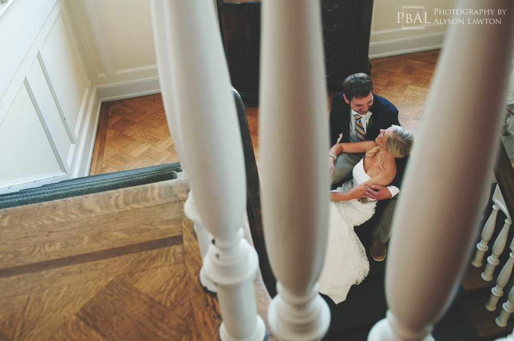 { North Carolina Wedding Photographer | Adam and Kelly | J.H. Adams Inn | High Point, NC | Photography by Alyson Lawton }