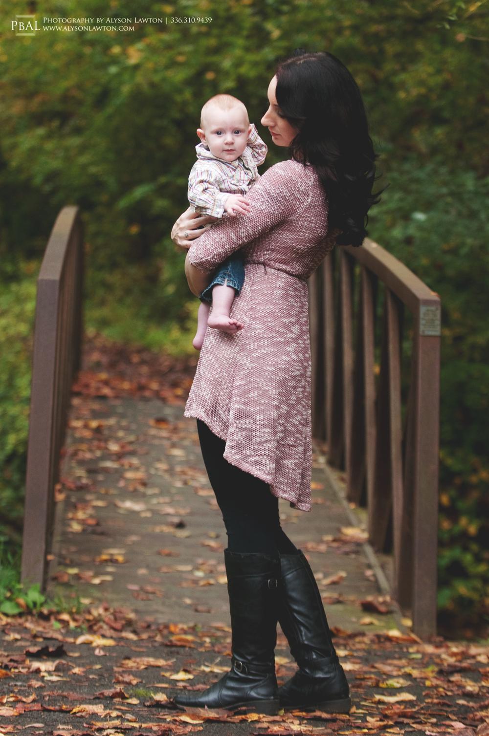 { North Carolina Portrait Photographer   Ashton & Gunner   Winston Salem, NC   -Photography by Alyson Lawton }