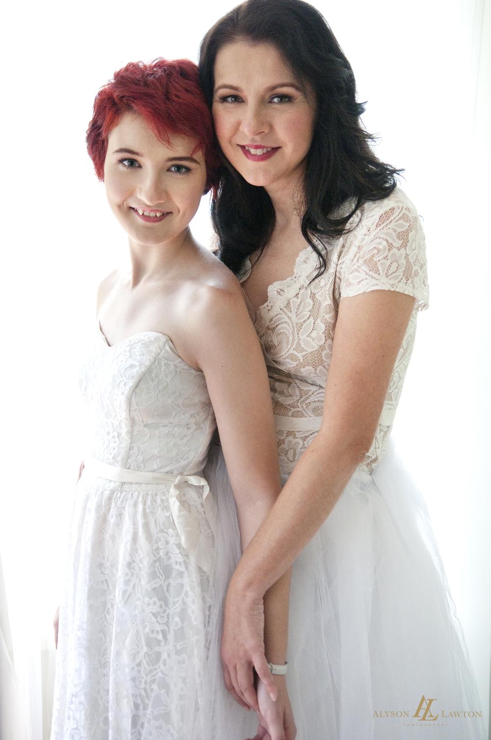 { North Carolina Wedding & Beauty Photographer |Sheila & Kearra| Winston-Salem, NC | Alyson Lawton Photography | www.alysonlawton.com }