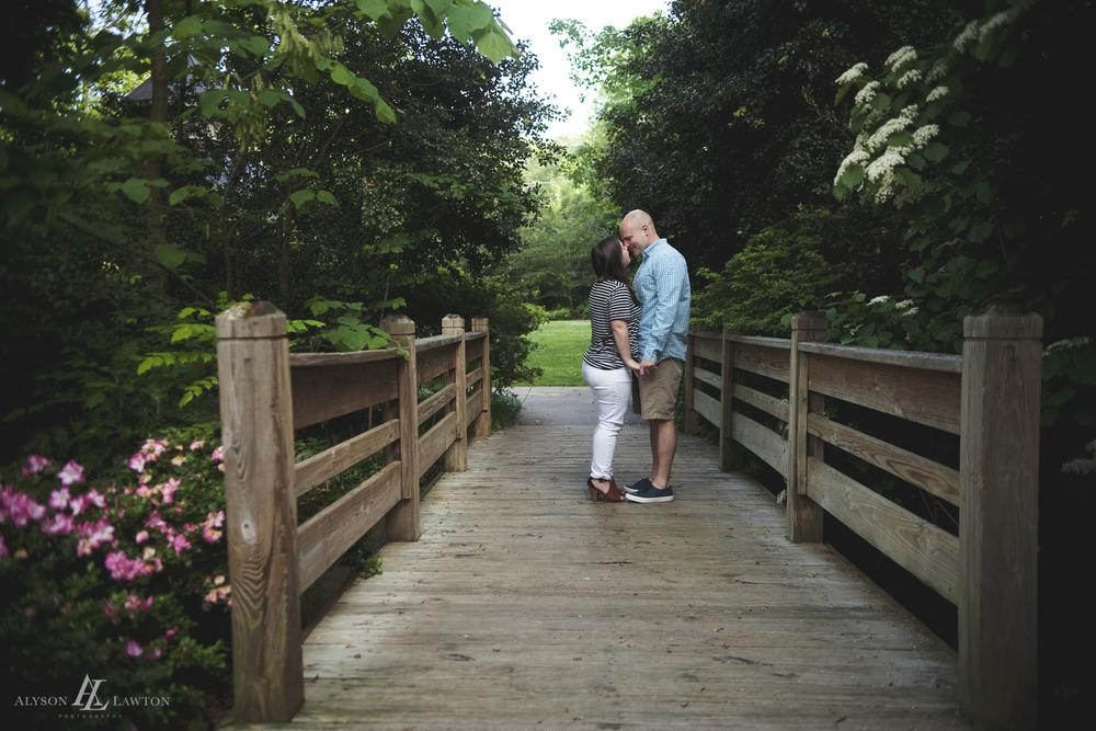 { Clark & Amber Surprise Engagement   Alyson Lawton Photography   Winston Salem Beauty & Wedding Photographer   Greensboro Arboretum   North Carolina   www.alysonlawton.com }