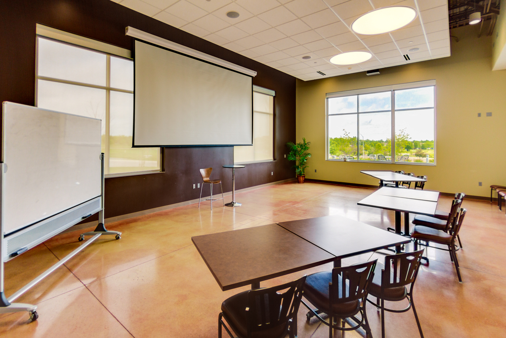 A private conference room is available adjacent to the Maplenol Café. Seating for up to 35 is provided in either theater or conference style.
