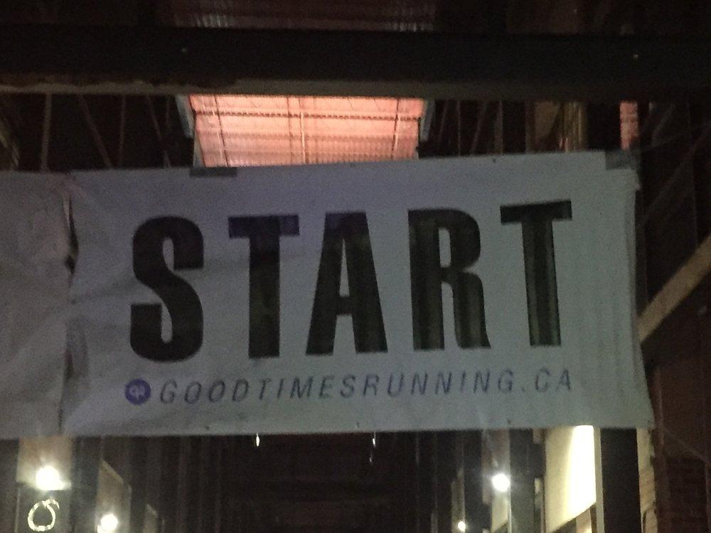 Midnight Run in TOronto to start off 2017!
