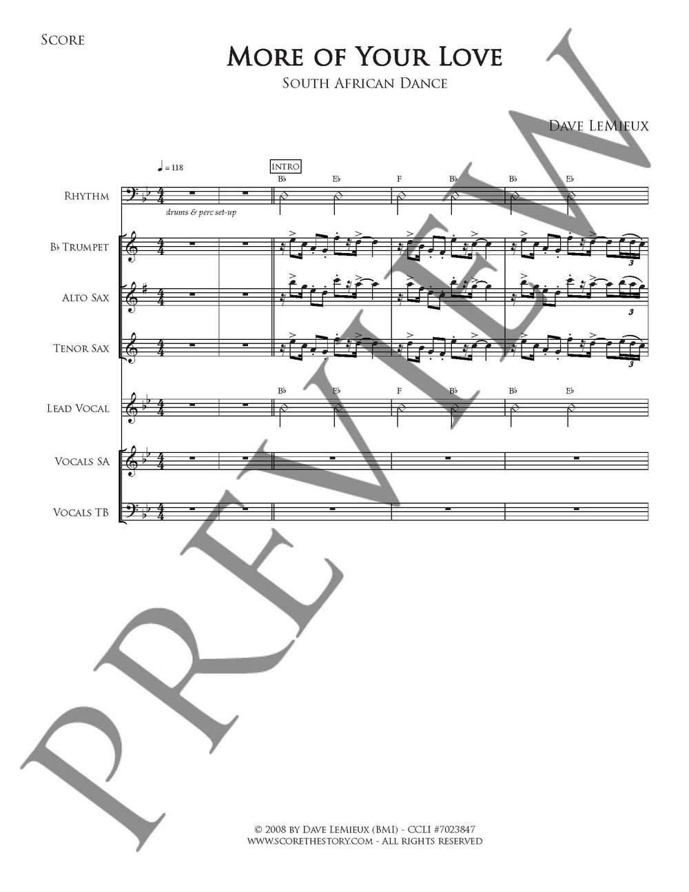 Full Score preview