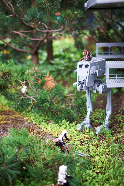 mera Star Wars, lillkillen i extas över allt han känner igen, papporna mer kontrollerade men förstående..