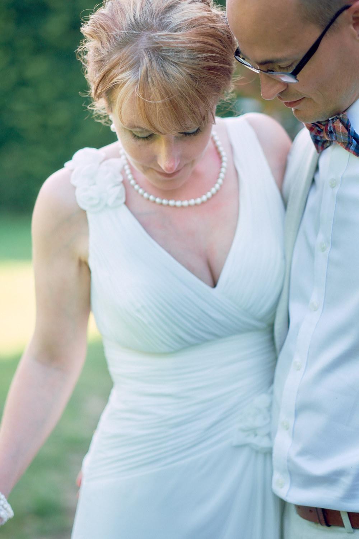 det vackra brudparet tillsammans
