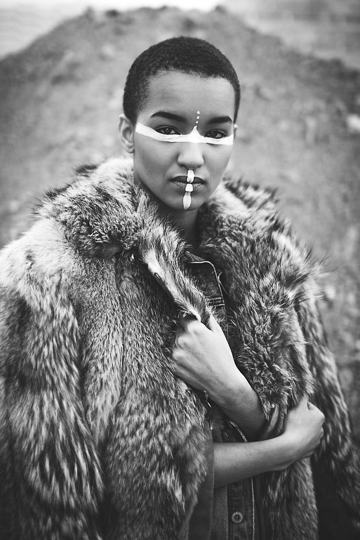 Olivia fotograferad av Marcus Grip