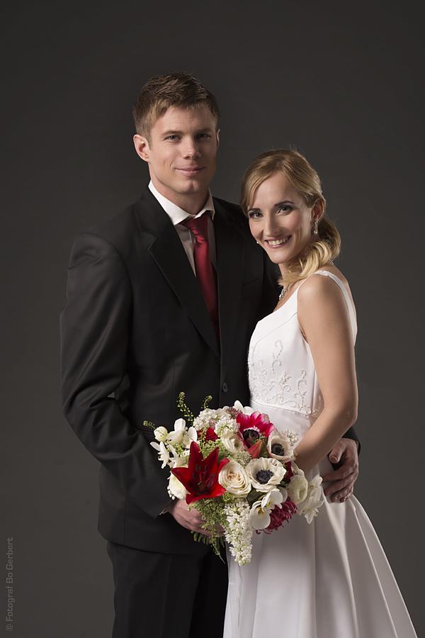 Det tjusiga brudparet för dagen