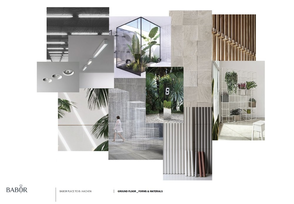 design intentions / materials & forms