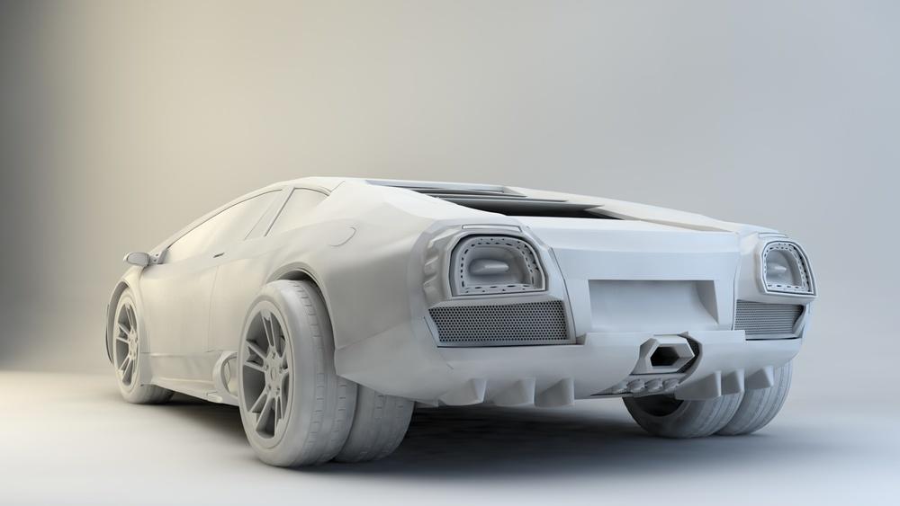 Lamborghini quick modelconcept
